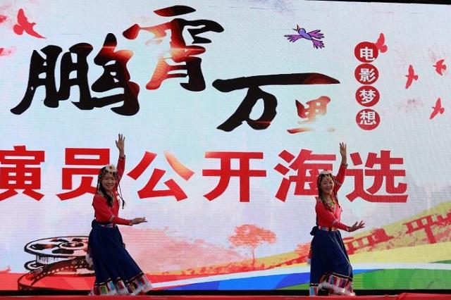 电影《鹏霄万里》演员公开海选活动在驻马店举行