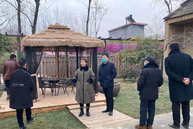 西平县五沟营镇开展人居环境观摩学习活动