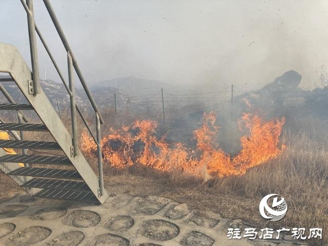 山火来袭 情况紧急 华润风能迅速扑灭