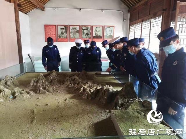 泌阳县消防救援大队开展学习党史教育主题活动