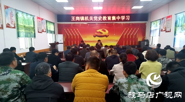 汝南县王岗镇多措并举开展党史学习教育