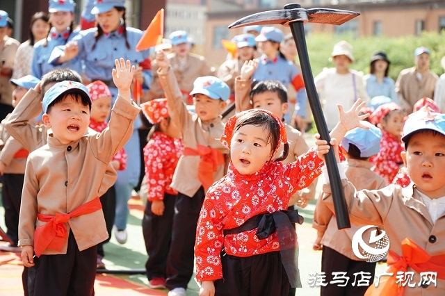伟才幼儿园举行建党100周年爱国主义教育活动
