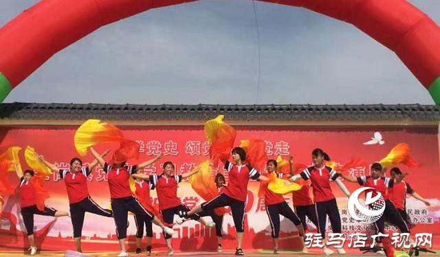 汝南县王岗镇举行党史学习教育主题活动文艺演出