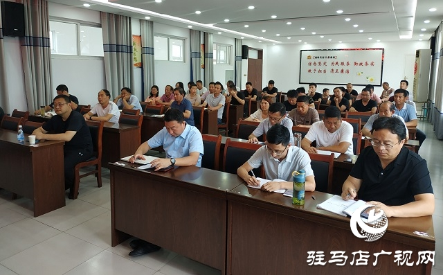 驻马店市党史学习教育宣讲团走进正阳县彭桥乡