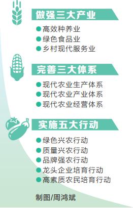 加快建设现代农业强省 乡村振兴五大行动计划系列解读之一
