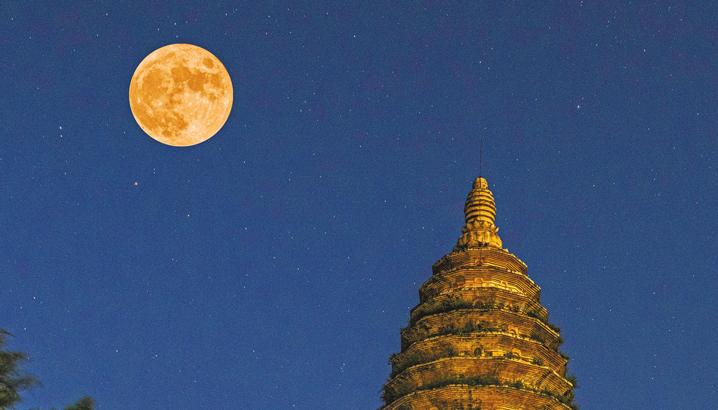 家国同欢 月圆之时看梦圆