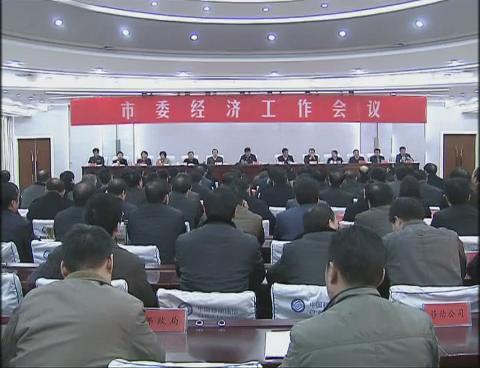 驻马店市委召开经济工作会议